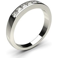 Seven Stone Diamond Ring White Gold 0.30ct H-I I1