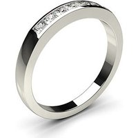 Seven Stone Diamond Ring White Gold 0.30ct H-I I1