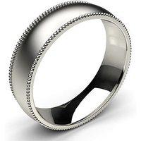 Wedding Ring White Gold in 1.8mm
