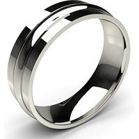 Wedding Ring White Gold in 1.8mm