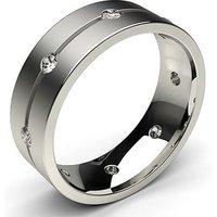 Wedding Ring White Gold in 2mm