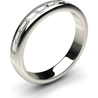 Diamond Half Eternity Ring White Gold 0.35ct H-I SI
