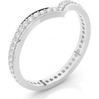 2.20mm Studded Flat Profile Diamond Shaped Band