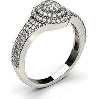 FashionDiamond RingWhite Gold H-I I1