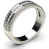 Diamond Half Eternity RingWhite Gold 0.60ct H-I SI