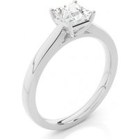 Solitaire Engagement Ring in White Gold with 0.15ct Diamond H I1