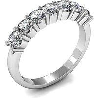 Seven Stone Diamond RingWhite Gold 0.20ct H-I I1