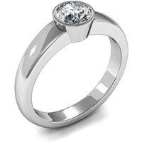 Engagement Ring inWhite Gold with 0.50ct Diamond
