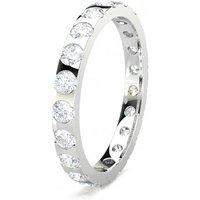 Diamond Full Eternity RingWhite Gold F-G SI
