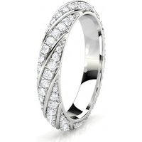 Diamond Full Eternity Ring White Gold F-G SI