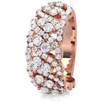 Fashion Diamond Ring White Gold H-I I1