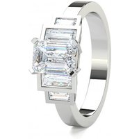 Five Stone Diamond RingWhite Gold 1.45ct H-I SI