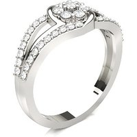 Diamond RingWhite Gold 0.45ct