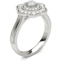 Diamond Engagement Ring in 4 Prong Setting with \n0.25 ct.