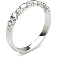 Diamond Fashion Ring in Pave Setting with 0.0200 ct. wt