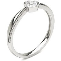 Diamond Cluster Ring in Pave Setting with 0.05 ct. Diamond H-I I1