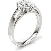 Engagement Ring inWhite Gold with 0.40ct Diamond