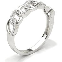 Diamond Fashion Ring in Pave Setting with 0.1400 ct. wt