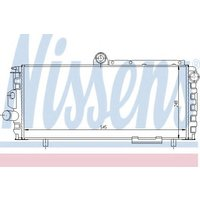 60010 Nissens Radiator Thermal engine cooling