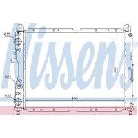 60024 Nissens Radiator engine cooling
