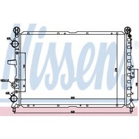 60030 Nissens Radiator engine cooling