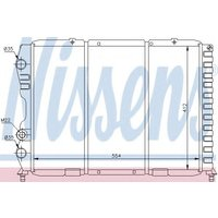 60033 Nissens Radiator engine cooling