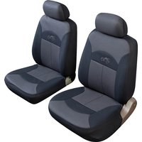 Car Seat Cover Celsius - Front Pair - Black/Grey COSMOS 14012A