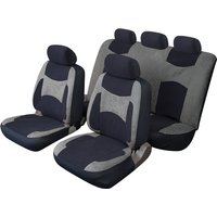 Car Seat Cover Escape - Set - Black/Grey COSMOS 14102A