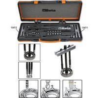 Beta Tools 1547/C6 25-135mm Dummy Ball Bearing Extractors Set | 015470006