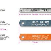 Beta Tools 1728LA 150mm Blade for 1725CR & 1725MQ Hacksaw Frames | 017280001