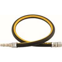 1/2in. ID Air Line Whip Hose C/w Fittings 0.6m | Connect 33043
