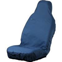 Car Seat Cover - Front Single - Blue TOWN & COUNTRY 3DFBLU
