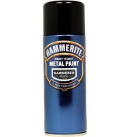 Direct To Rust Metal Paint - Hammered Black - 400ml 5084781 HAMMERITE