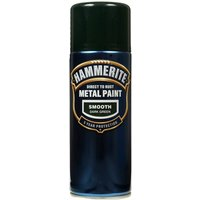 Direct To Rust Metal Paint - Smooth Dark Green - 400ml 5092821 HAMMERITE