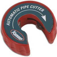 Kamasa 55777 Pipe Cutter 15mm - Just clip on & rotate and the pipe will be cut!