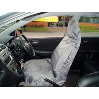 Car Seat Cover Waterproof - Front Single - Grey 650 MAYPOLE