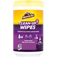 Clean Up Wipes - Pack Of 20 87020EN ARMORALL