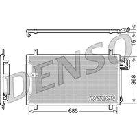 Denso DCN46014 Condenser
