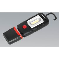 Sealey LED3601 Rechargeable 360° Inspection Lamp 2W COB + 1W LED