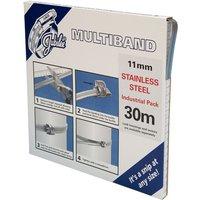 11mm Multiband Banding S/S - 30 Metre Dispenser MB1802 JUBILEE