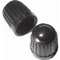 Car Dust Caps - Black - Pack Of 100 PTA135 PEARL CONSUMABLES