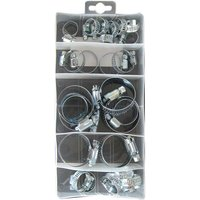 Assorted M/S Hose Clips - Box of 26 PXP133 PEARL CONSUMABLES