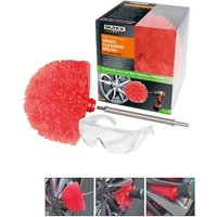 QUIXX Car Detail Vehicle Care Wheel Alloy Cleaning Brush Drill Attachment QWCB1
