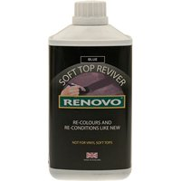 Soft Top Reviver - Blue - 1 Litre RHRBLU1122 RENOVO