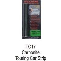 Eclipse Carbonite Touring Car Sun Strip - Black- CASTLE PROMOTIONS- TC17