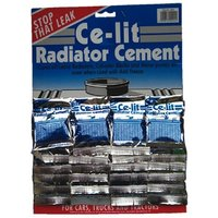 Radiator Cement Sachets - Display Card Of 24 0244A CE-LIT