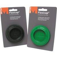 Flexicap Emergency - Non Locking - Green- METRO- 044-07