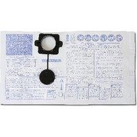 Beta Tools 1870-20/5S 5 Horizontal Paper Bags for 1870 Vacuum Cleaner 018700021