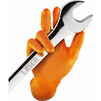 Grippaz Nitrile Gloves Box of 50 (Medium) Traction Grip Ambidextrous | 37300