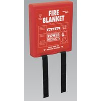 Sealey SFB11 | Fire Blanket 1.1 x 1.1mtr
